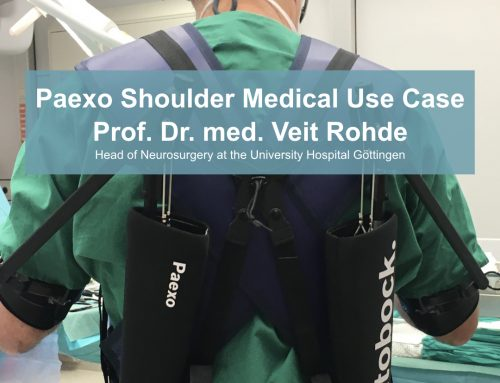 A new use case for Paexo Shoulder in Neurosurgery