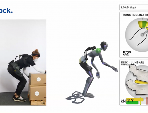 Paexo Back – scalefit analysis visualizes the physical workload in real time and real conditions